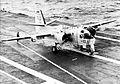 S-2E Tracker of VS-23 after landing on USS Yorktown (CVS-10) c1964.jpg