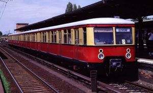 Berlin S-Bahn - Some Type 477 trains, built before World War II, remained in service until the early 21st century