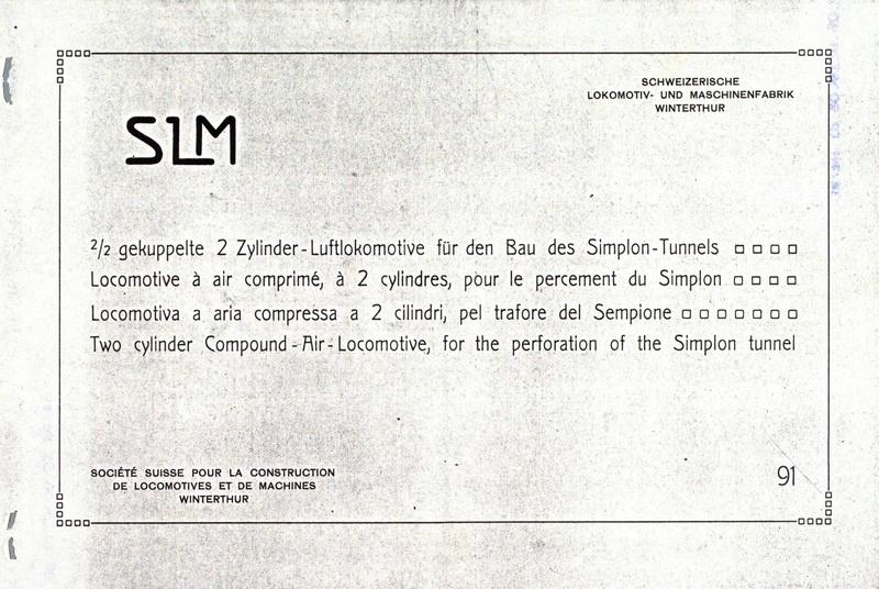 File:SBB Historic - 91 - 2 2 gekuppelte 2 Zylinder-Luftlokomotive für den Bau des Simplon-Tunnels.pdf
