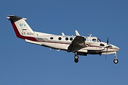 SE-KDK Beech King Air CPH.jpg
