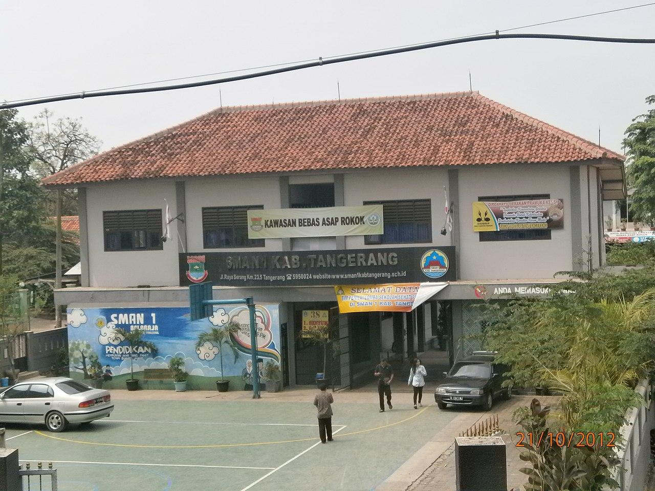 File Sman 1 Kab Tangerang Panoramio Jpg Wikimedia Commons