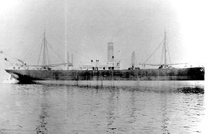 SS Ohioan as she appeared before her U.S. Navy service in World War I