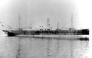 SS Ohioan come apparve prima del suo servizio della Marina degli Stati Uniti nella prima guerra mondiale