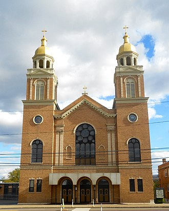 Plains Township, Luzerne County, Pennsylvania - Image: SS Peter and Paul Church Plains PA