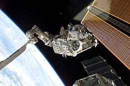 STS-111 Installation of Mobile Base System.jpg