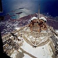 STS72 EVA Shark Bay