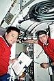 STS 92. Astronauci Chiao i McArthur.jpg