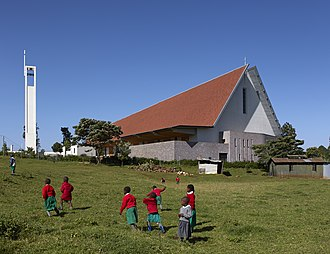 John McAslan - Image: Sacred Heart Cathedral of Kericho Kenya by John Macaslan and Partners Image edmund sumner