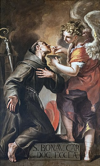 La communion de saint Bonaventure