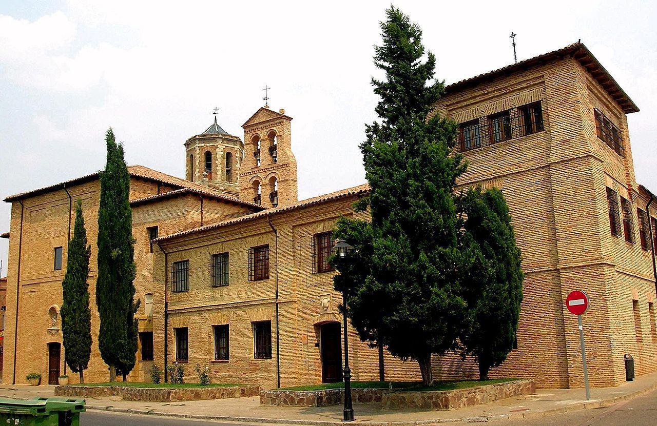 Archivo:Sahagun - Monasterio de Santa Cruz - MM Benedictinas 1.jpg -  Wikipedia, la enciclopedia libre
