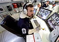 Sailor in Ship Control Centre of Type 45 Destroyer MOD 45155656.jpg