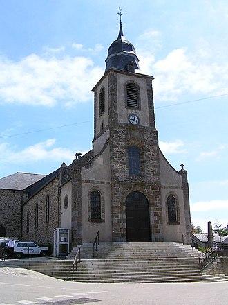 Saint-Coulomb - Image: Saint Coulomb eglise