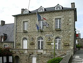 The town hall of Saint-Briac-sur-Mer