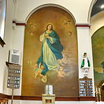 Saint Anthony Catholic Church (Temperance, MI) - interior, Immaculate Conception mural.jpg