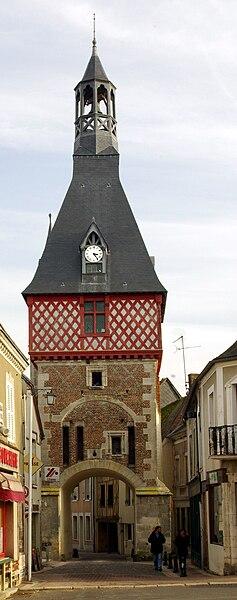 Saint-Fargeau, the belfry