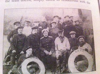 Brusilov Expedition - Brusilov's crew before departure.