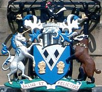 Coat of arms of Sale Borough Council
