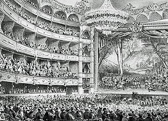 Jules Massenet -  Auditorium of the Opéra-Comique