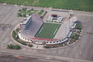 Sam Boyd Stadium - Aerial view, 2014