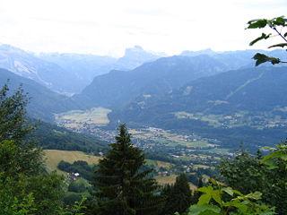 Samoëns Commune in Auvergne-Rhône-Alpes, France