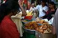 Samosas, pakoras street food Little India Canada.jpg