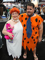 File:San Diego Comic-Con 2011 - Wilma and Fred (5992097988).jpg