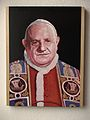 San Giovanni XXIII, opera di Bonaldi Giovanni donata a Papa Francesco, settembre 2014.JPG