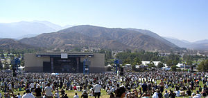 Glen Helen Amphitheater - Image: San Manuel Amphitheater