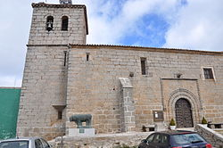 Church of San Miguel Arcangel in San Miguel de Serrezuela , Avila, Spain