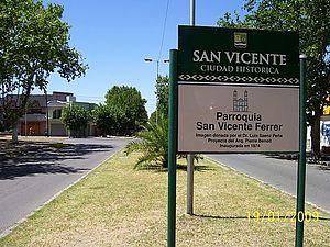 San Vicente, Buenos Aires - Image: San Vicente 1