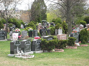 Lawrence Avenue - Image: Sanctuary Cemetery, Toronto