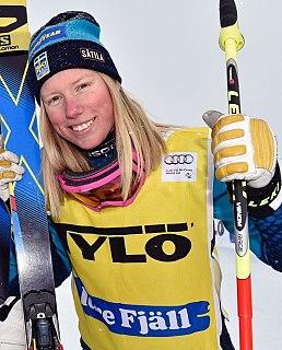 Sandra Näslund Swedish freestyle skier