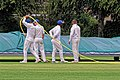 Sandwich Town CC mobile cricket pitch covers at Sandwich, Kent, England 04.jpg