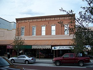 Sanford Commercial District - Storefront in district