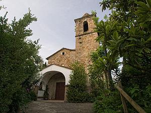 Sant Aniol de Finestres - Church of Sant Aniol