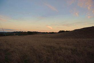 Santa Rosa Plateau - Grassland in the Santa Rosa Plateau, California.