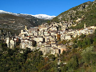 Saorge Commune in Provence-Alpes-Côte dAzur, France