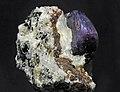 Saphir, albite, biotite 300.4.FS2014 1.jpg