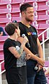 Sara Keirsten and Dan Reynolds at LoveLoud 2018 (44270801441).jpg