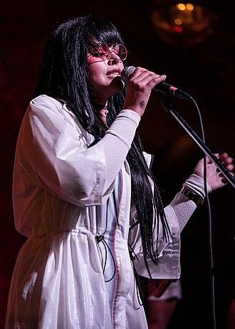 Sara Forsberg - Forsberg performing in 2016