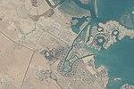 Satellite imagery of West Bay in Doha.jpg