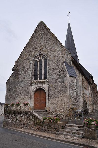 Eglise Saint-Loup de Savigné-sous-le-Lude (Sarthe)