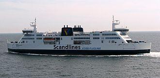 Vogelfluglinie - Image: Scandlines Prinsesse Benedikte