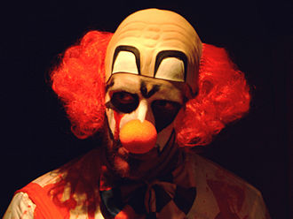 "Evil clown - Generic ""evil clown"" makeup"