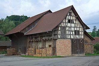 Basadingen-Schlattingen - A barn in Schlattingen