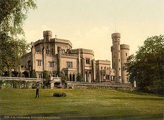 Babelsberg - Babelsberg Palace, about 1900