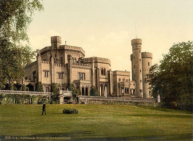 Schloss Babelsberg Sanierung