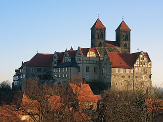 Quedlinburg Abbey - Castle and abbey of Quedlinburg