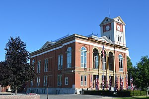 Schuyler County, Illinois - Image: Schuyler County Courthouse, Rushville