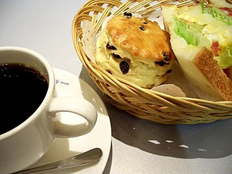 Scone - Scones with coffee